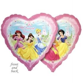 Μπαλονι Foil 45Cm Καρδια Πριγκιπισσες Disney 2-Πλευρες – ΚΩΔ.:515750-Bb
