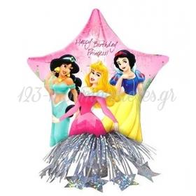 Μπαλονι Foil 36Cm Πριγκιπισσες Disney Centerpiece Με Βαριδιο Και Κορδελες – ΚΩΔ.:516260-Bb