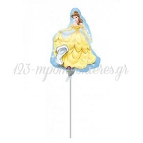 Μπαλονι Foil 23Cm Mini Shape Πριγκιπισσα Bella Disney – ΚΩΔ.:518295-Bb