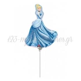 Μπαλονι Foil 23Cm Mini Shape Σταχτοπουτα Disney – ΚΩΔ.:525022-Bb
