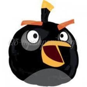 ΜΠΑΛΟΝΙ FOIL 48x61cm SUPER SHAPE ΜΑΥΡΟ ANGRY BIRD -ΚΩΔ.:525466-BB