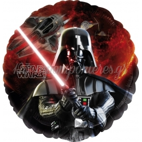 ΜΠΑΛΟΝΙ FOIL 45cm STAR WARS DARTH VADER  -ΚΩΔ.:525685-BB