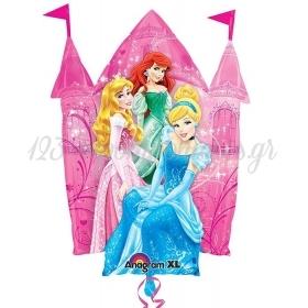 Μπαλονι Foil 66X88Cm Καστρο Με Πριγκιπισσες Disney – ΚΩΔ.:526402-Bb