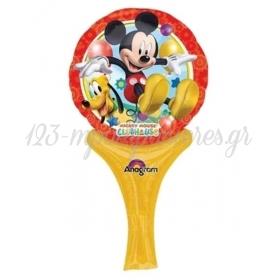 Μπαλονι Foil 30Cm Mini Shape Mickey Mouse Disney Inflate-A-Fun – ΚΩΔ.:527030-Bb