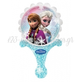 ΜΠΑΛΟΝΙ FOIL 35x21cm MINI SHAPE FROZEN DISNEY INFLATE-A-FUN – ΚΩΔ:528163-BB