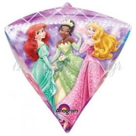 Μπαλονι Foil 38X43Cm Διαμαντι Πριγκιπισσες Disney – ΚΩΔ.:528453-Bb