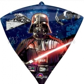 ΜΠΑΛΟΝΙ FOIL 38x43cm DIAMONDZ STAR WARS  -ΚΩΔ.:530398-BB