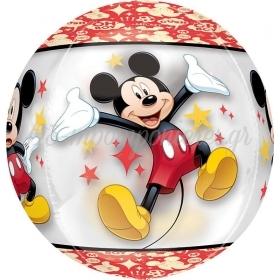 Μπαλονι Foil 45Cm Mickey Mouse Διαφανο Orbz – ΚΩΔ.:534589-Bb