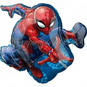 ΜΠΑΛΟΝΙ FOIL 43x73cm SUPER SHAPE SPIDERMAN - ΚΩΔ.:534665-BB