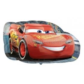 ΜΠΑΛΟΝΙ FOIL 76x43cm SUPER SHAPE CARS DISNEY ΚΕΡΑΥΝΟΣ MCQUEEN – ΚΩΔ.:535370-BB