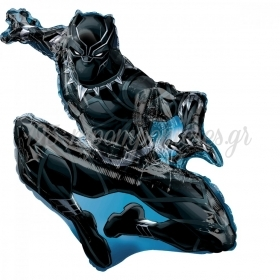 ΜΠΑΛΟΝΙ FOIL 81x81cm SUPER SHAPE BLACK PANTHER AVENGERS -ΚΩΔ.:538953-BB