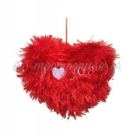 ΛΟΥΤΡΙΝΗ ΜΑΛΛΙΑΡΗ ΚΑΡΔΟΥΛΑ 'I LOVE YOU' - ΚΩΔ:55896732-BB