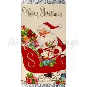 Χριστουγεννιατικη Σοκολατα Vintage Αη Βασιλης - ΚΩΔ:Xs1501-7-Bb