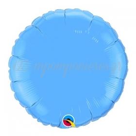 """ΜΠΑΛΟΝΙ FOIL 18""""(45cm) ΣΤΡΟΓΓΥΛΟ SKY BLUE – ΚΩΔ.:12908-BB"""