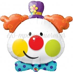 Μπαλονι Foil 91.4Cm Supershape Χαριτωμενος Κλοουν – ΚΩΔ.:49403-Bb