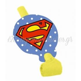 ΚΑΡΑΜΟΥΖΑ ΧΑΡΤΙΝΟ SUPERMAN - ΚΩΔ:P25944-9-BB