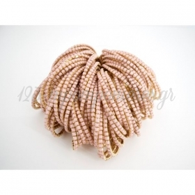 Βραχιολι Χρυσο Ελαστικο Με Ροζ Πετρες - ΚΩΔ:Mar17Rx-Rn