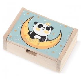 ΞΥΛΙΝΟ ΚΟΥΤΙ PANDA - ΚΩΔ:LN910-PR