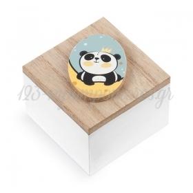 ΞΥΛΙΝΟ ΚΟΥΤΑΚΙ PANDA - ΚΩΔ:XK910-PR