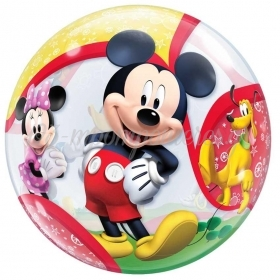 """Μπαλονι Foil 22""""(56Cm) Mickey Mouse And Friends Bubble Μονο – ΚΩΔ.:41067-Bb"""