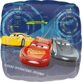 ΜΠΑΛΟΝΙ FOIL SUPERSHAPE CARS 3 ΚΕΡΑΥΝΟΣ MCQUEEN 86x81cm – ΚΩΔ.:535364-BB