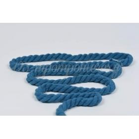 Κορδονι Βαμβακερο Μπλε 10Mm Σε Καρουλι 22.8 Μετρων - ΚΩΔ:2520999-18-Rd
