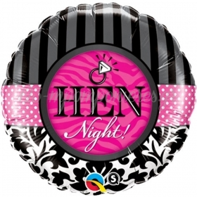 ΜΠΑΛΟΝΙ FOIL SUPER SHAPE 45cm «Hen Night» – ΚΩΔ.:18456-BB