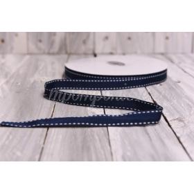 Κορδελα Γκρο - Μπλε Σκουρο Φοντο - 1.5Cmx50Μ - ΚΩΔ:2520940-18Blue-Rd