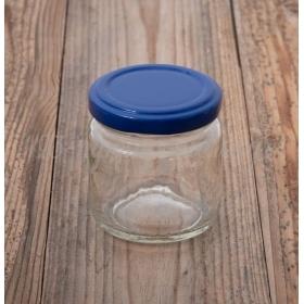 ΒΑΖΑΚΙΑ ΓΥΑΛΙΝΑ ΚΛΑΣΙΚΑ ΜΕ ΜΠΛΕ ΚΑΠΑΚΙ 106 ml - ΚΩΔ: STD106-BLUE