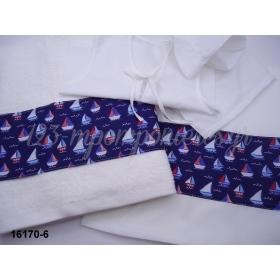 Λαδοπανα Για Αγορι Famous Baby Ναυτικο Καραβακια - ΚΩΔ:16170-6-Al