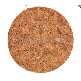 ΠΑΝΑΚΙ ΣΤΡΟΓΓΥΛΟ ΑΠΟ ΦΕΛΛΟ 12CM - ΚΩΔ:M2400-AD