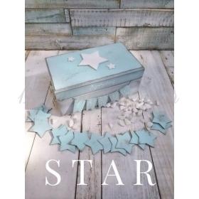 ΚΟΥΤΙ ΕΥΧΩΝ ΞΥΛΙΝΟ - ΑΣΤΕΡΙ - ΚΩΔ:STAR-WISH-BM