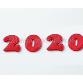 ΔΙΑΚΟΣΜΗΤΙΚΑ ΖΑΧΑΡΩΤΑ ΑΠΟ ΖΑΧΑΡΟΠΑΣΤΑ - 2020 - ΣΕΤ 4 ΑΡΙΘΜΩΝ - 3 X 3,5 ΕΚ. - ΚΩΔ:5025-FAR