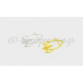 ΜΕΤΑΛΛΙΚΟΣ ΠΥΡΑΥΛΟΣ 4x2.2cm K419 - ΚΩΔ:517913