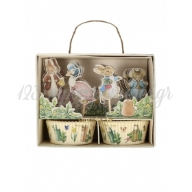 Cupcake Kit Peter Rabbit & Friends - ΚΩΔ:202977-JP