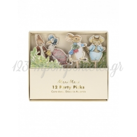 Party Sticks Peter Rabbit & Friends - 12 ΤΜΧ - ΚΩΔ:203186-JP