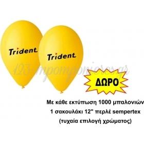 Μπαλονια 12'' (32Cm) Gemar Εκτυπωμενα Σε Δυο Πλευρες Με 2 Χρωματα - ΚΩΔ:Ektyp-5
