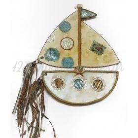ΒΙΒΛΙΟ ΕΥΧΩΝ ΘΕΜΑ ΚΑΡΑΒΑΚΙ 32Χ25cm - ΚΩΔ:KARABAKI-123