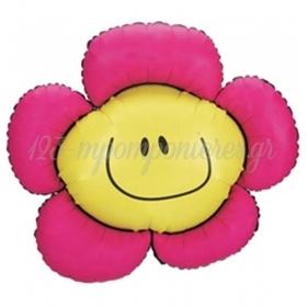 Μπαλονι Foil 38'' 96Cm Χαμογελαστο Λουλουδι – ΚΩΔ:15778-Bb