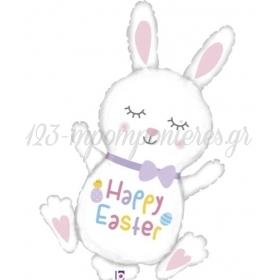 Μπαλονι Foil 38'' 97Cm Λαγουδακι Happy Easter – ΚΩΔ:35931-Bb