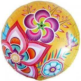 Μπαλονι Foil 18'' 45Cm Λουλουδια Και Πεταλουδα – ΚΩΔ:82031-Bb