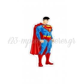 ΞΥΛΙΝΟ ΔΙΑΚΟΣΜΗΤΙΚΟ SUPERMAN 15 ΕΚΑΤ. - ΚΩΔ:D16001-42-BB
