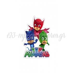 Ξυλινο Διακοσμητικο Pj Masks 15 Εκατ. - ΚΩΔ:D16001-49-Bb