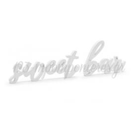 """ΞΥΛΙΝΟ ΔΙΑΚΟΣΜΗΤΙΚΟ ΤΡΑΠΕΖΙΟΥ ΛΕΥΚΟ """"SWEET BAR"""" - ΚΩΔ:DN1-008-BB"""