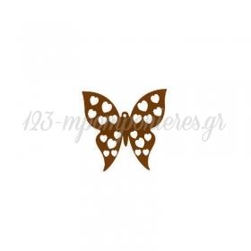 Ξύλινο Πεταλούδα 44x43mm - ΚΩΔ:76010203.003-NG