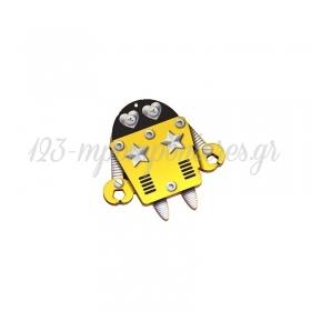 Ξύλινο Ρομπότ 60x59mm - ΚΩΔ:76460355.401-NG