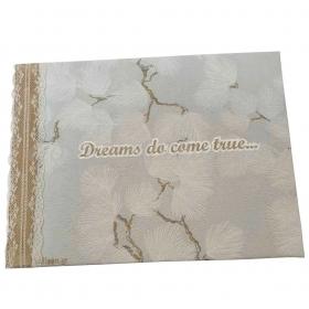 """ΒΙΒΛΙΟ ΕΥΧΩΝ """"DREAMS DO COME TRUE"""" - ΚΩΔ:860BDCL30B-6-BB"""
