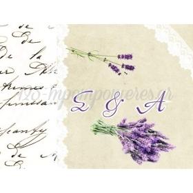 ΕΥΧΑΡΙΣΤΗΡΙΟ ΚΑΡΤΕΛΑΚΙ ΓΑΜΟΥ ΛΕΒΑΝΤΑ - ΚΩΔ:D1411-23-BB