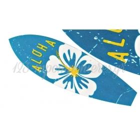 ΞΥΛΙΝΗ ΣΑΝΙΔΑ ΤΟΥ SURF ALOHA ΜΕ ΛΟΥΛΟΥΔΙ 6X20CM - ΚΩΔ:M3603-AD