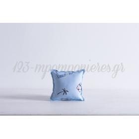 Μαξιλαρακι Με Τυπωμα Ναυτικο - 10X10 - ΚΩΔ:371682-Nt